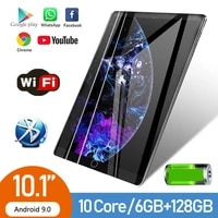 android 9 0 tablet pc 6gb 128gb rome 4g 10 1 inch dual symbols support mobile phone card 5000mah tab