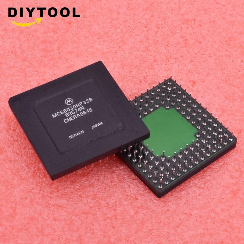 1 pces/5 pces mc68030rp33b mc68030rp33 32-bit vintag33mhz pga microcontrolador