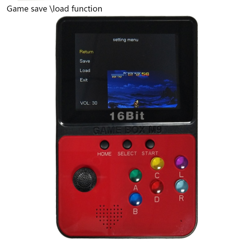 Mini Arcade Video Games Console With 4G TF Card 900 Games For nessnesgbamdmame Games Download Joystick TV Out enlarge