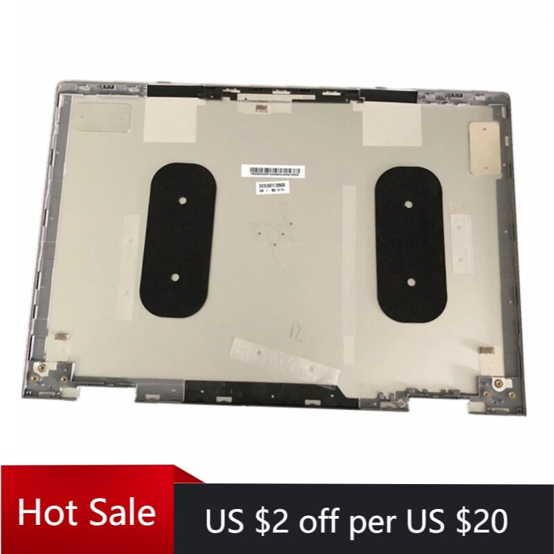 "Nueva funda trasera LCD de tapa superior de LCD para ordenador portátil HP Envy X360 15-BP 15M-BP ENVY 15-BQ 15,6 ""series 924344-001 4600BX0G000 Silver"