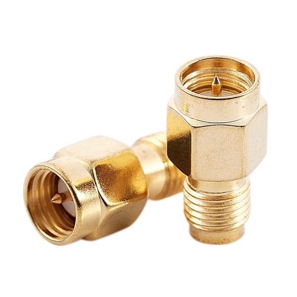 Promoção! Sma macho plug (pino) a RP-SMA fêmea (pino) acoplamento porca conector adaptador para wi-fi antena/sinal impulsionador/repetição
