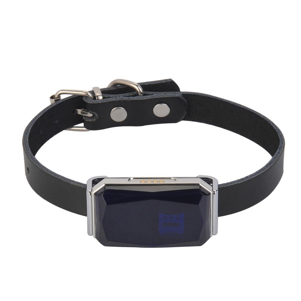 Smart Pet GPS Tracking Collar Practical Anti-Lost Waterproof Tracer Waterproof Puppy Dog Mini Tracking Pet Cat Dog Puppy Collar