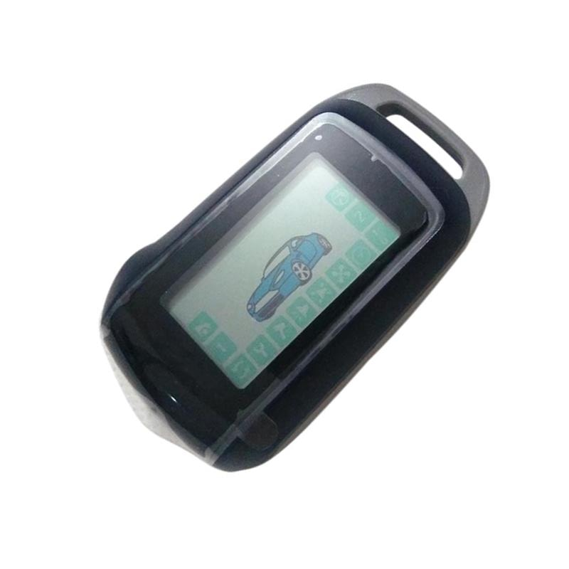 A94 LCD Remote Control Keychain for Russia Key Fob Starline a94 Two Way car alarm system