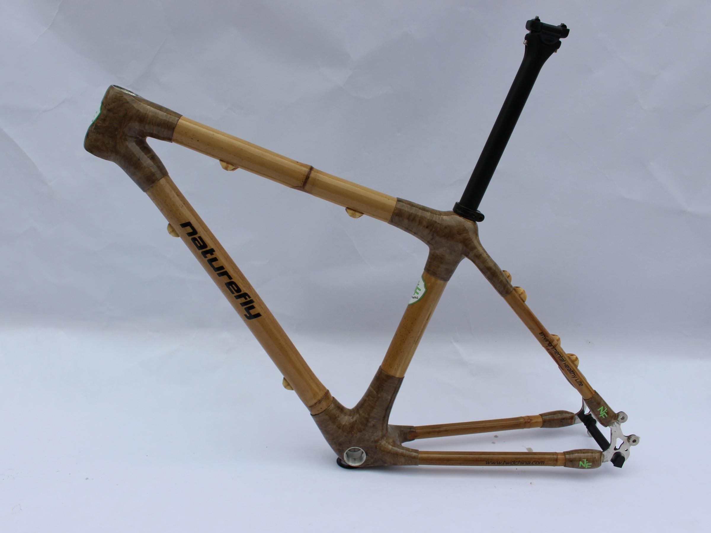 ¡Novedades! ¡Envío gratis! Cuadro de bicicleta de montaña de bambú 29er 2020