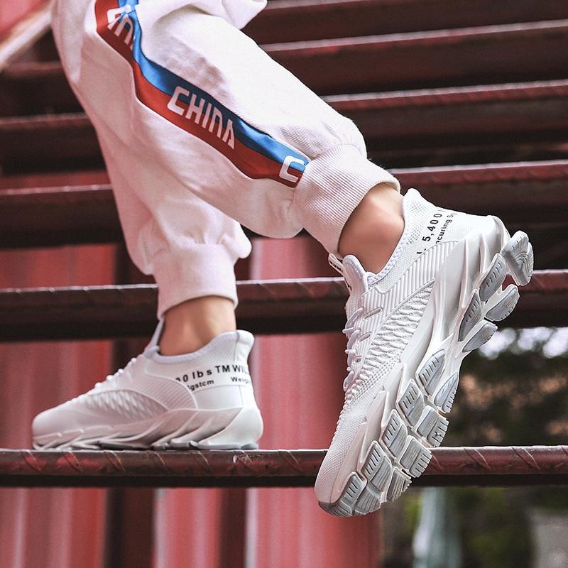 Zapatillas de deporte para correr deportes para hombre, zapatos con cordones uo, transpirables, atléticos para exteriores, entrenamiento Profesional, novedad de 2021