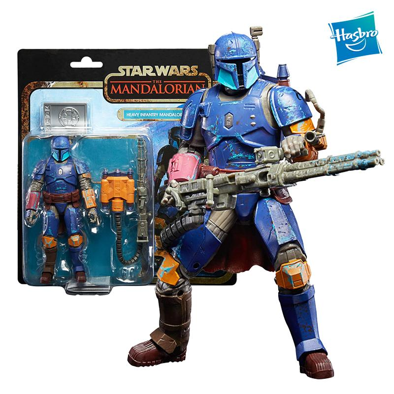 Hasbro 6 Inches Star Wars The Mandalorian Heavy Infantry Collection Action Anime Figure Model Kids Toys for Boys