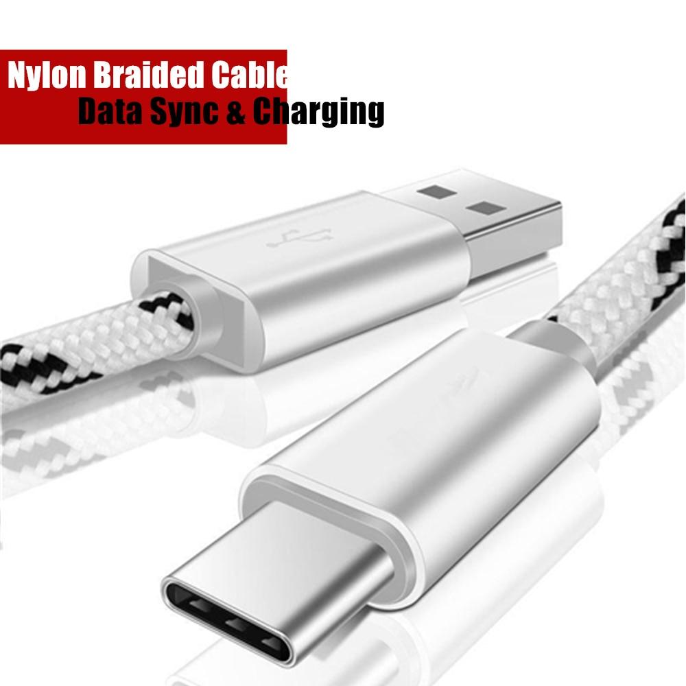 Cable de carga rápida LÍNEA DE cargador USB para LG Q Stylo 4 Q8 Q9 Q7 G6 plus Q8S V35 V50 V40 G7 Thiq adaptador g5 v20 tipo C