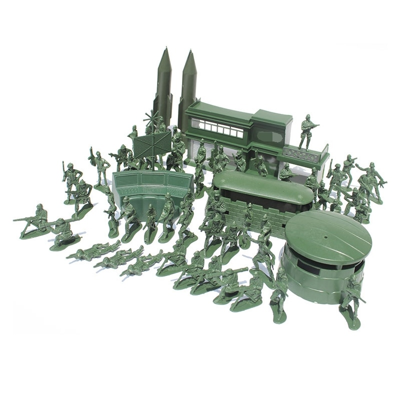 56pcs 5cm high Soldier Model Military sandbox game Plastic Toy Soldier Army Men Figures For Children's toy dolls gift 100pcs high soldier model military sandbox game plastic toy soldier army men figures for children s toy dolls gift