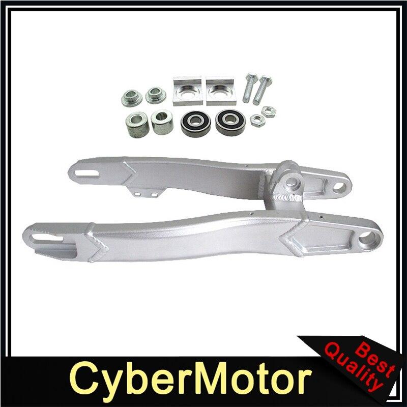 480 мм Алюминиевый задний маятник для китайского 125cc 140cc 150cc 160cc 190cc Pit Dirt Bike SSR pyanha Lucky MX Thumpstar