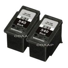 2x Compatible canon PG 540 cartouche dencre noire Pour PIXMA MG4250 MX375 MX435 MX475 MX515 MX525 MX535 MX455 MX395 Imprimante