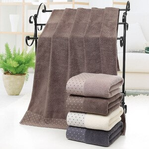 70x140cm Large Cotton Bath Towel Thick Luxury Solid towel for SPA Bathroom Bath Towels for Adults Egyptian Cotton beach towel