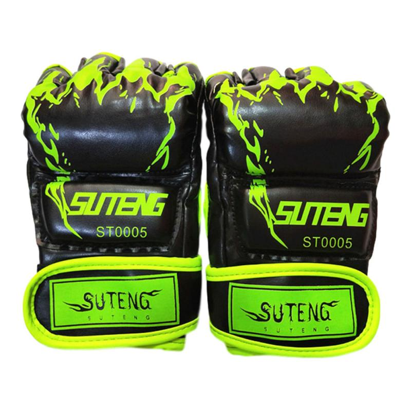 Боксерские перчатки с пятью пальцами тигровый коготь для ММА интегрированные бойцовские боксерские перчатки с песком перчатки без пальцев...