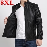 5xl plus 6xl size 7xl 4xl new leather jacketgenuine leathersheepskinmotorcycle man coatleather menbiker jacket