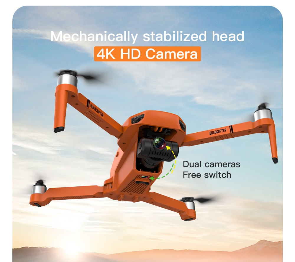 2021 New GPS Drone 4k Profesional 8K HD Camera 2-Axis Gimbal Anti-Shake Aerial Photography Brushless Foldable Quadcopter 1.2km enlarge