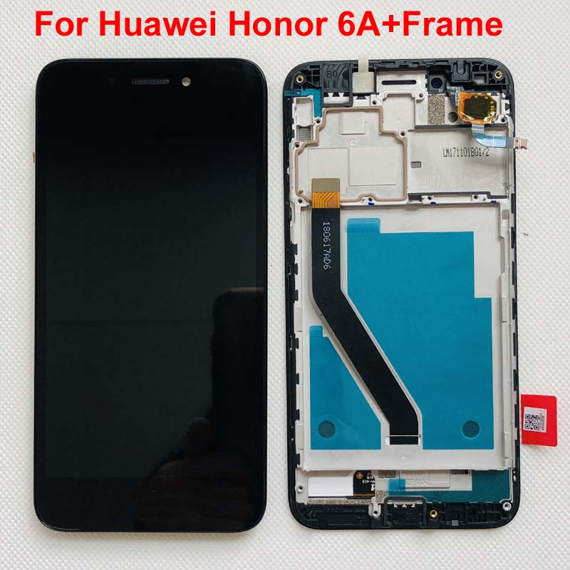 Écran LCD complet dorigine + écran tactile numériseur assemblée pour Huawei Honor 6A DLI-L22 DLI-L01 DLI-TL20 DLI-AL10 avec cadre