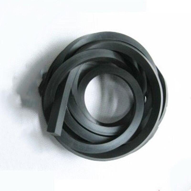 1M Fluoro Tira adhesiva tira de sellado cuadrado Perfluoro caucho cuadrado tira de ácido alcalino resistente a altas temperaturas resistente FKM