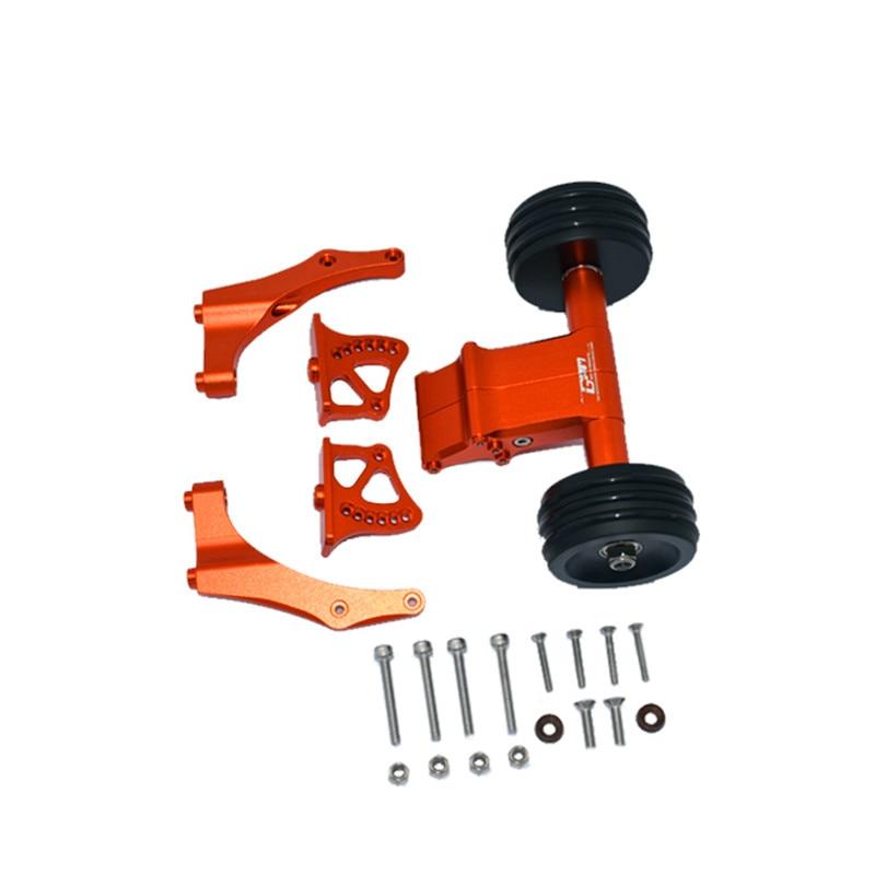 ARRMA 1/5 KRATON 8SARA110002T1 aluminum alloy with anti-rolling wheel adjustable angle wind wing seat ARA320492+ARA320536 enlarge