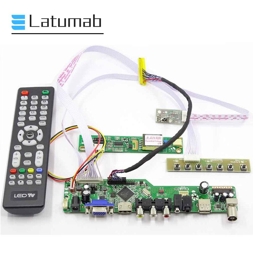 Latumab لوحة للقيادة ل CLAA156WA01A LVDS 15.6