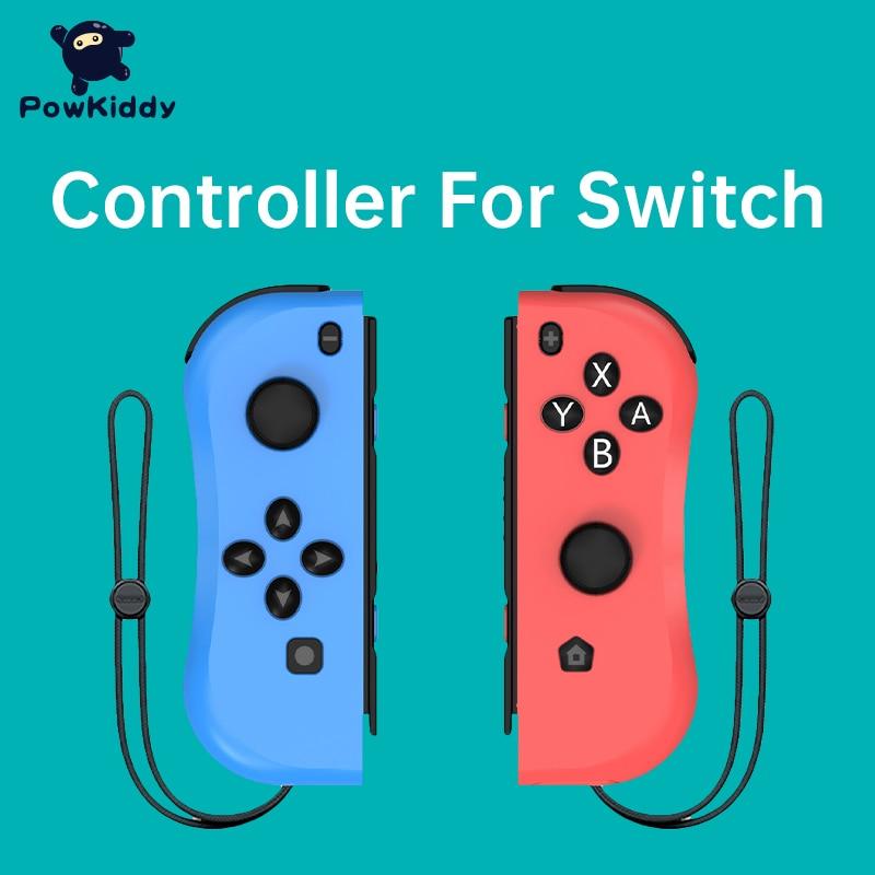 Powkiddy-وحدة تحكم في الألعاب ، مفتاح اتصال بلوتوث ثلاثي الأبعاد