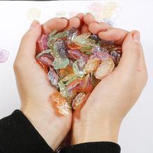 20 piezas Color Vintage perlas de imitación Natural concha de perla colgante para artesanía decoración para scrapbook ropa DIY