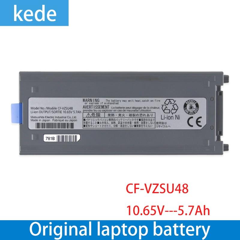 Kede Dorigine Cellule Japonaise Nouveau CF-VZSU48 Batterie pour Panasonic CF-VZSU48 CF-VZSU48U CF-VZSU28 CF-VZSU50 CF-19 CF19 Toughbook