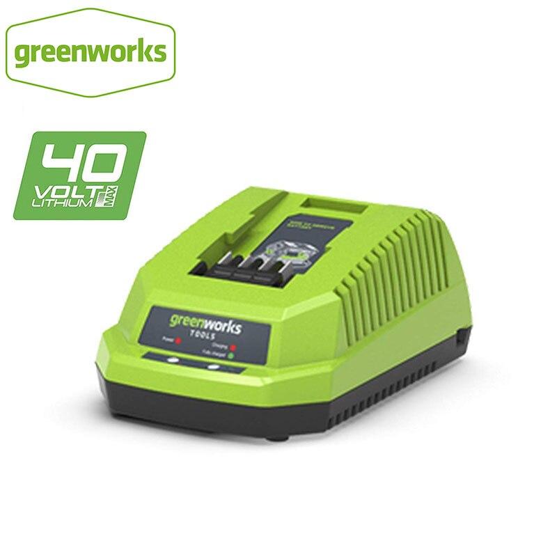 Бесплатная доставка, зарядное устройство для литиевых батарей GreenWorks 29482G-MAX 40V, зарядное устройство для батарей 40V 29472