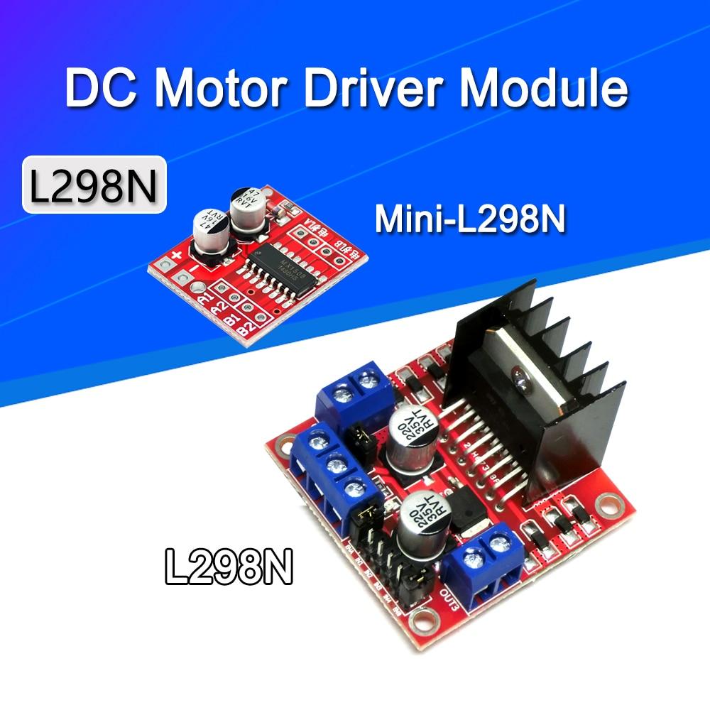 L298N плата драйвера, Модуль L298N шаговый �