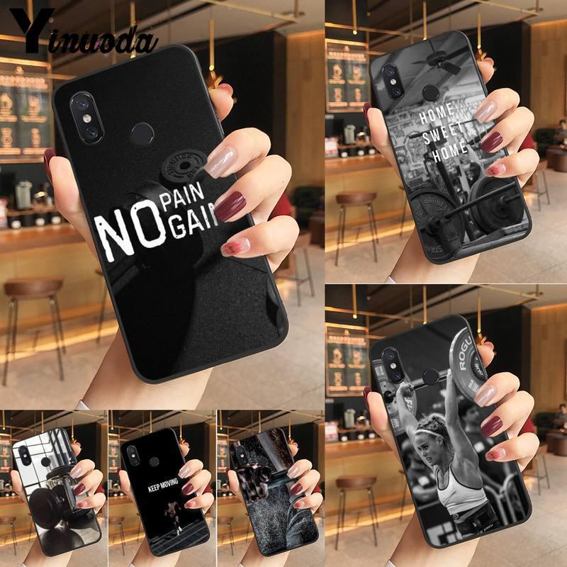 Funda negra para teléfono móvil para Redmi K20 Note 5 7 7a 6 8 Pro note 8T 9 Xiaomi Mi 8 9 SE
