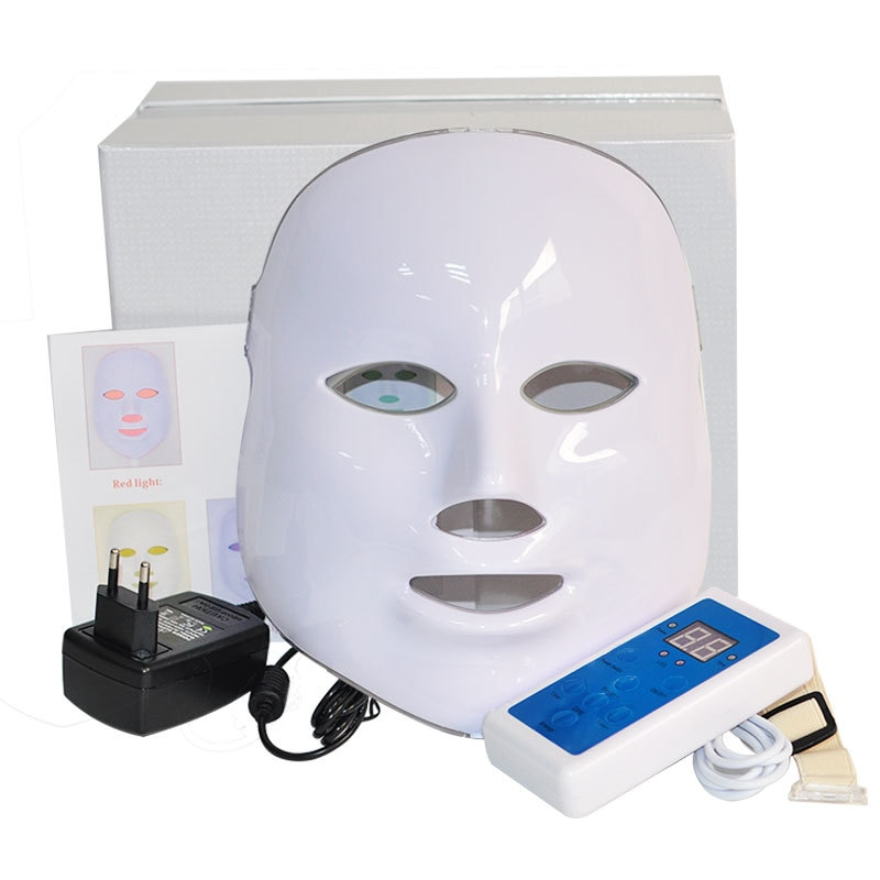 Massager For Face Led Mask Skin Rejuvenation Facial Radiofrequency Korean Photon Therapy Face Mask Care Skin Care Facial Light