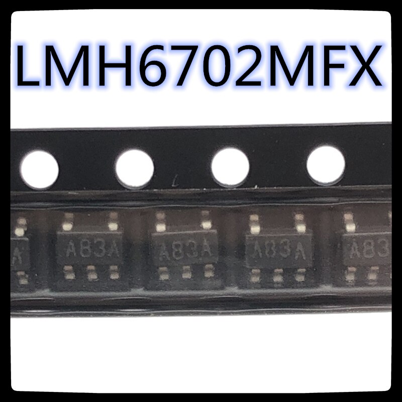 (5 pièces-20 pièces) LMH6702MFX SOT-23-5 LMH6702MF Code de SOT23-5 A83A tout neuf original