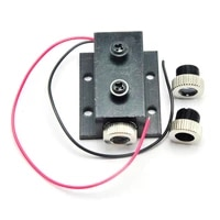 new 5mw 850nm infrared ir laser diode dotlinecross module dc3 2v focusable unit w 12mm silver heatsink