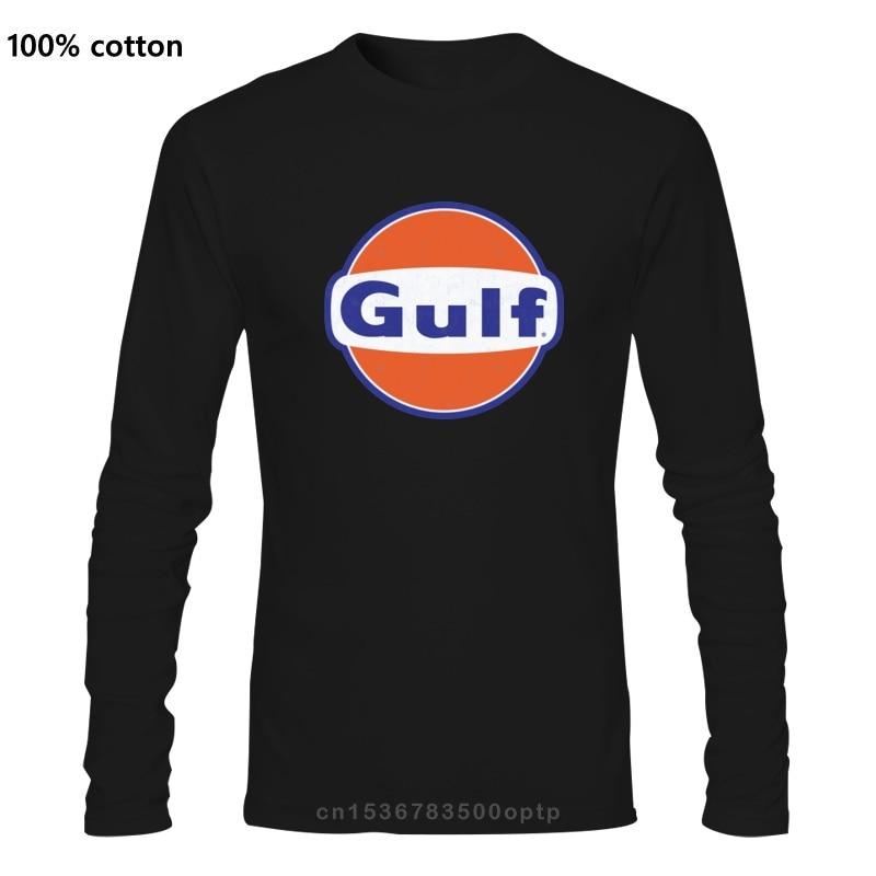 Gulf Distressed Gasoline Petrol Gas Station Gas Bar Race T shirt