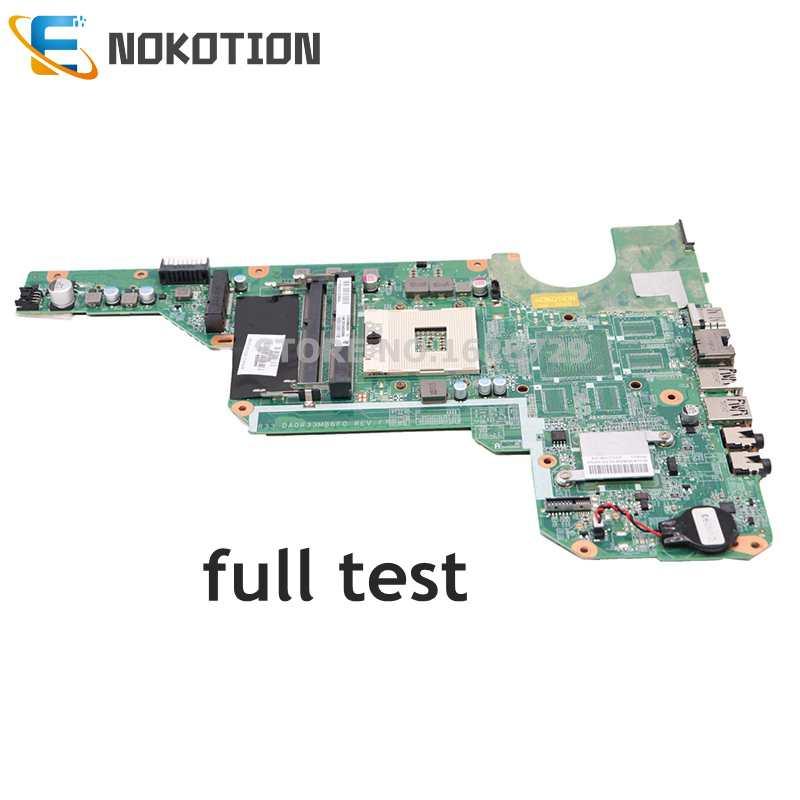 NOKOTION 680568-501 680568-001 اللوحة لابتوب HP جناح G4 G6 G7-2000 G6-2000 G4-2000 الرئيسي مجلس DA0R33MB6E0 يعمل