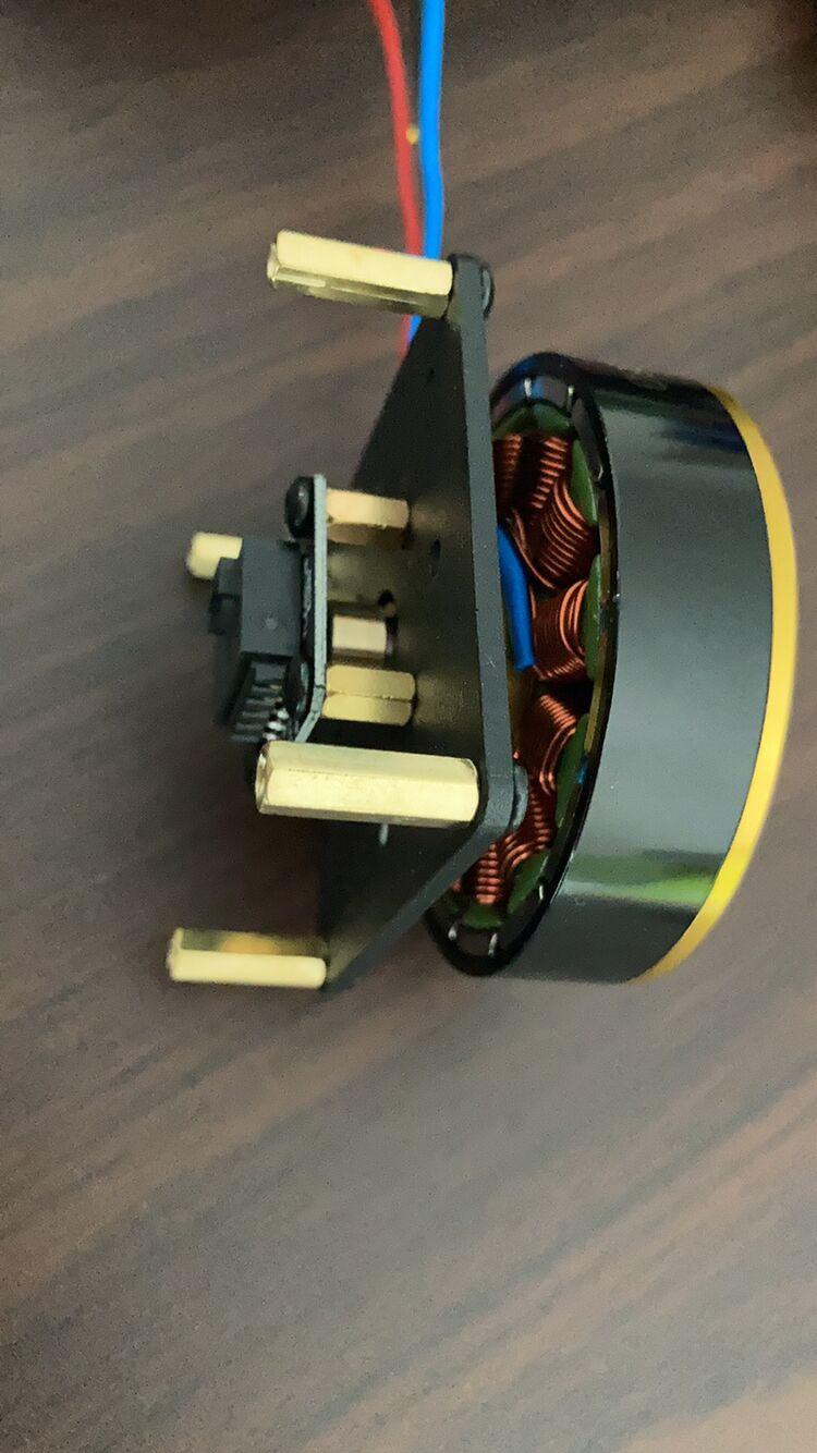 محرك ODrive محرك معزز فرش السيارات الصغيرة PMSM BLDC
