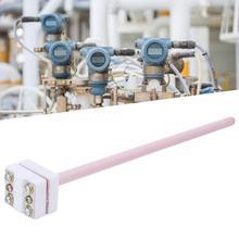 S type thermocouple WRP-100 platinum and rhodium thermocouple probe length 225mm/300mm probe head temperature sensor 1300 C