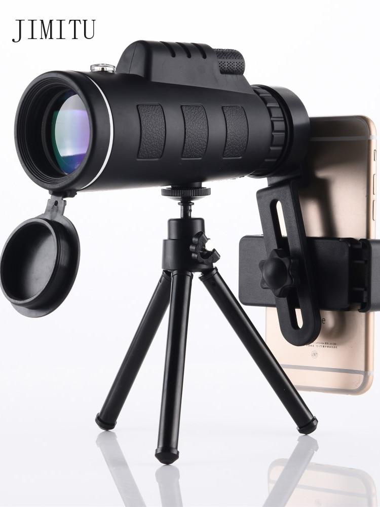 Бинокли Телескопы 40*60, Монокуляр с ночным зрением и высоким разрешением, для использования вне помещений, при сласветильник, оптовая продаж...