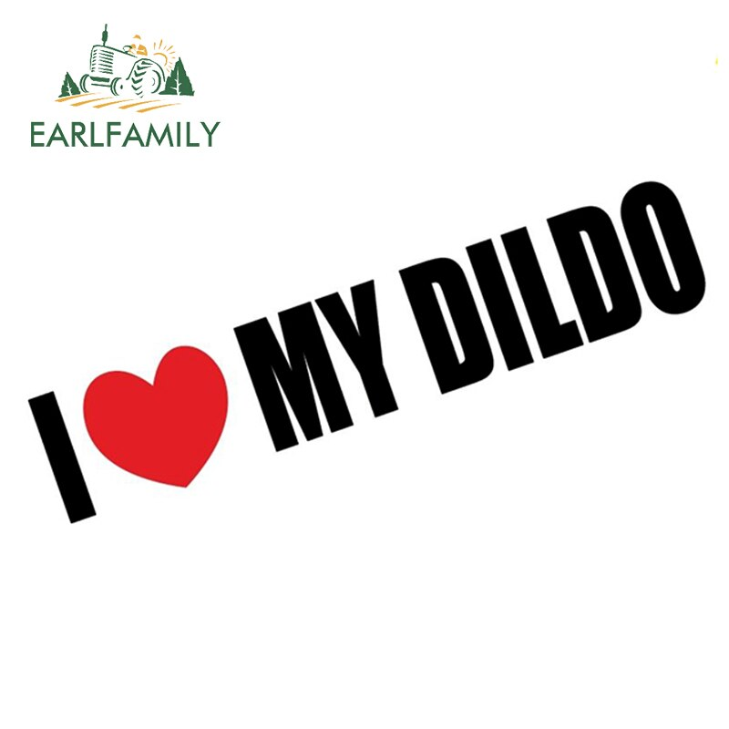 AliExpress - EARLFAMILY 15cm I Love My Dido Joke Car Motorbike Vinyl Sticker Graphic Decal Funny Prank Car Sticker Decoration