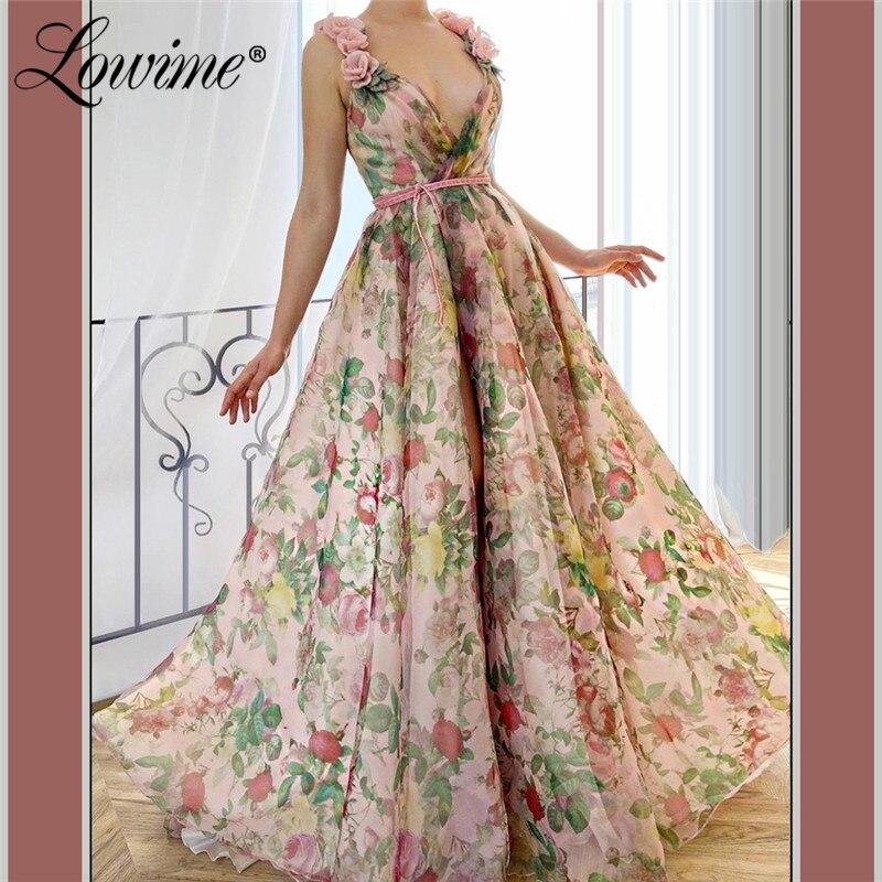 Kleid Blumen A Linie  dallas 2022