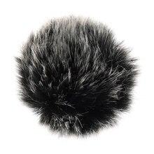 Universal Lapel Microphone Windscreen Mini Size Lavalier Mic Furry Windscreen Muff 5mm