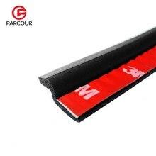 Автомобильный резиновый уплотнитель 2 метра, тип Z, 3 м, клейкий наполнитель, высокоплотная уплотнительная лента для автомобильной двери, шумоизоляция, автомобильные аксессуары