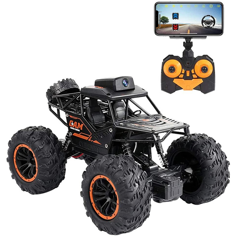 Pickwoo RC Car 2.4G 720P WIFI FPV HD Camera SUV 1:18 4WD Off-road High-speed Remote Control Drift Ca