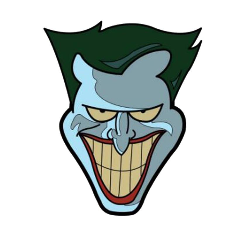 Pin de solapa esmaltado Joker