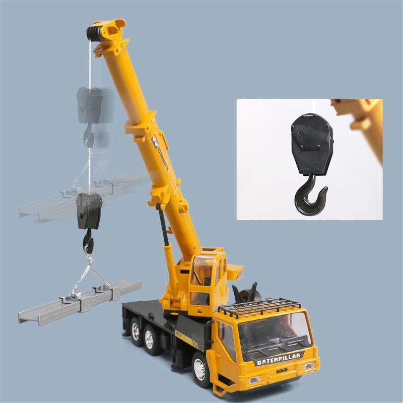 Rc Hoist Crane Model Engineering Car Toys For Children Birthday Xmas Good Gift R New enlarge