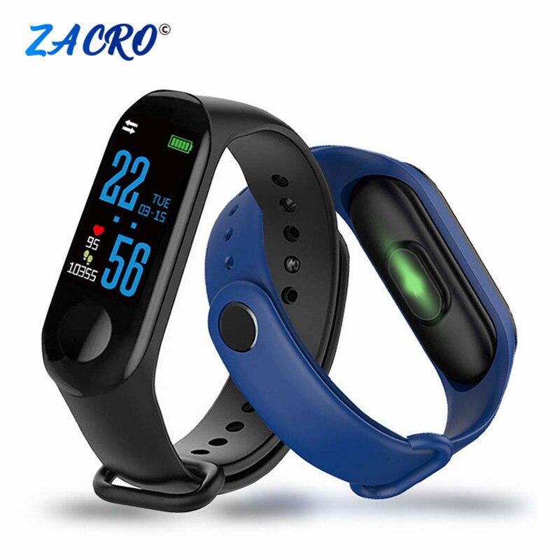 Podómetro M3 para correr, pulsera deportiva, Monitor de ritmo cardíaco, contador de pasos M3Plus, banda de muñeca para caminar, pulsera de reloj de Fitness