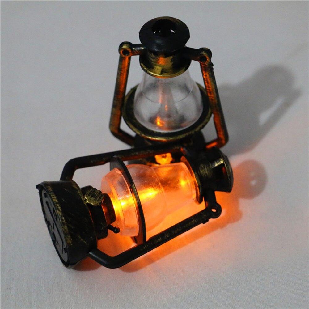 Мини масляная лампа 3 вида стилей для кукольного домика 1:12, миниатюрные украшения, керосиновая модель фонаря, детская игрушка, аксессуары для кукольного домика «сделай сам»