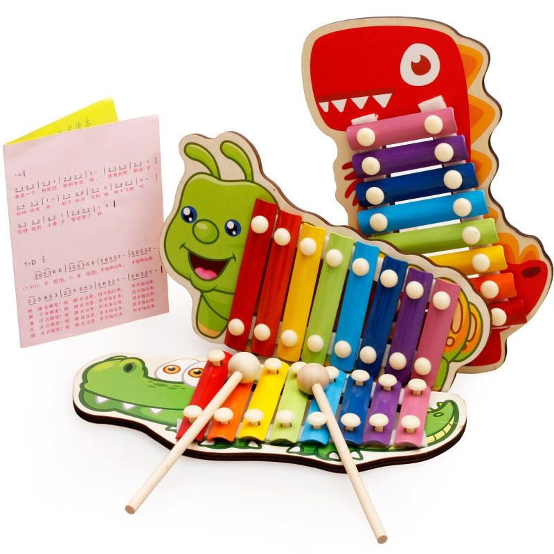 Детские музыкальные игрушки, деревянные ранние детские развивающие игрушки для развития мудрости, детские игрушки