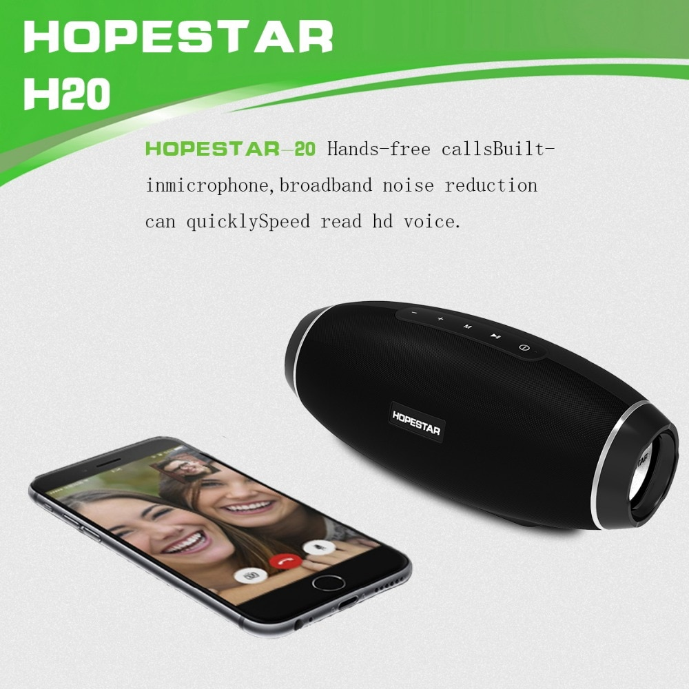 Portable Bluetooth Speaker 30W Wireless 3D Stereo Waterproof Subwoofer Heavy Bass Stereo Music Player With Power Bank Function enlarge