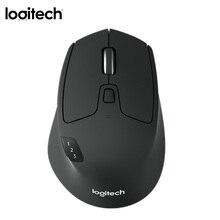 Logitech M720 Triatlón de juegos inalámbrico Oficina ratón 2,4G de modo Dual BT Gamer ratón 8 Botones 1000DPI ratones para el ordenador portátil de Escritorio PC