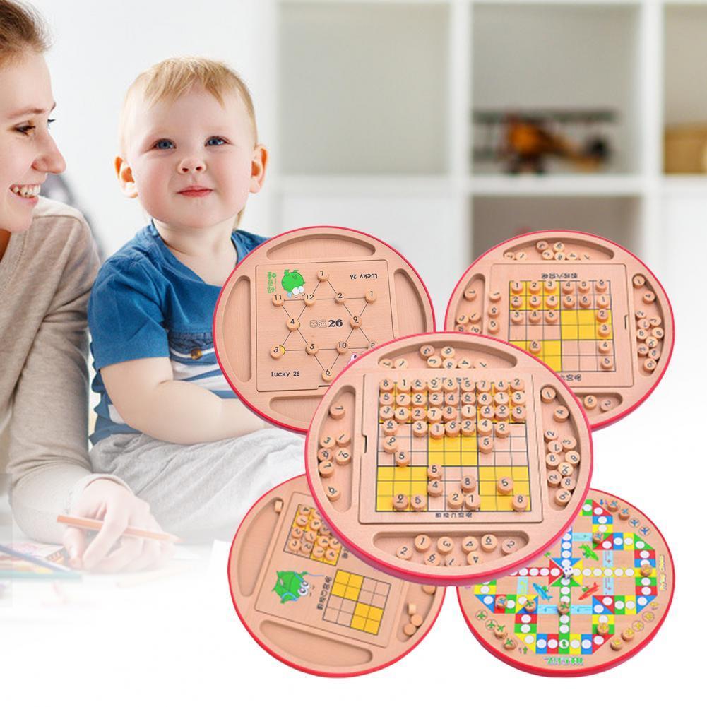 1 комплект игры тонкой работы многофункциональные деревянные головоломки игры для детей