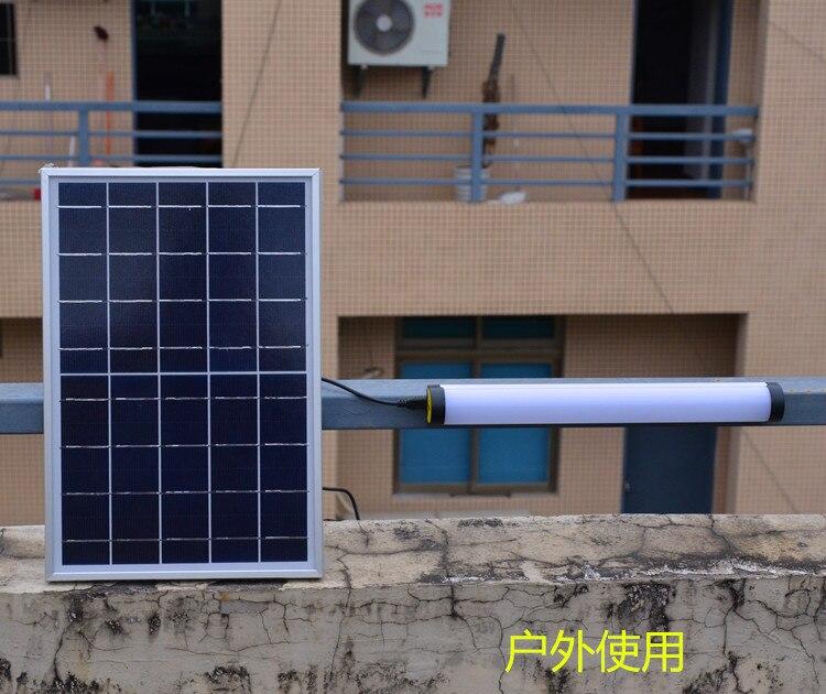 OK30 USB Solar Charging Lamp Multi-functional Portable Light 5W LED